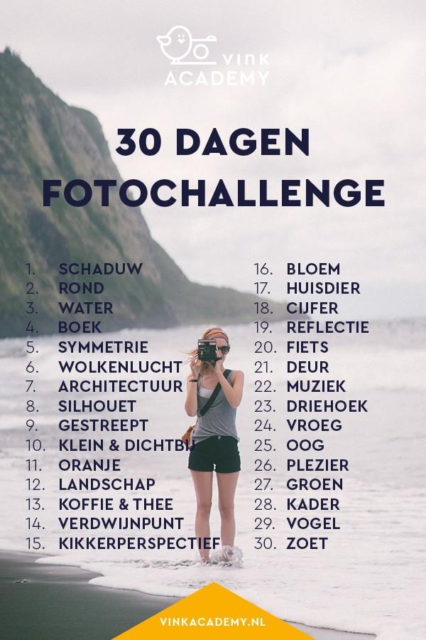 30 dagen fotochallenge: doe je ook mee