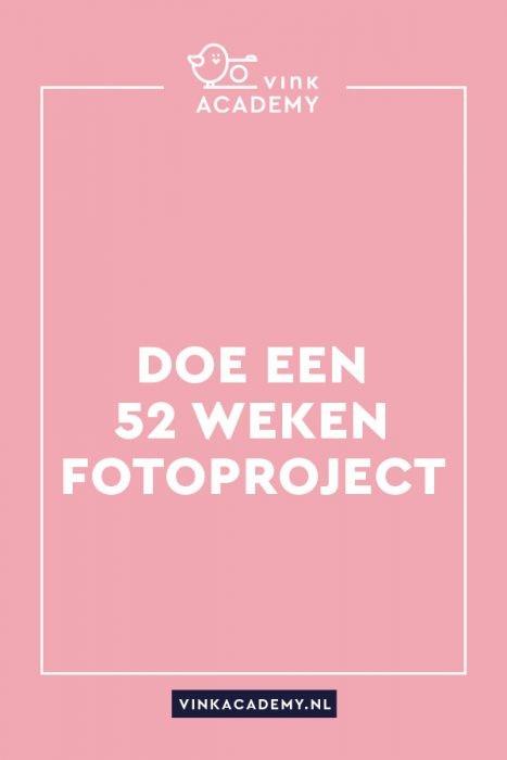 Fotoproject 52 weken