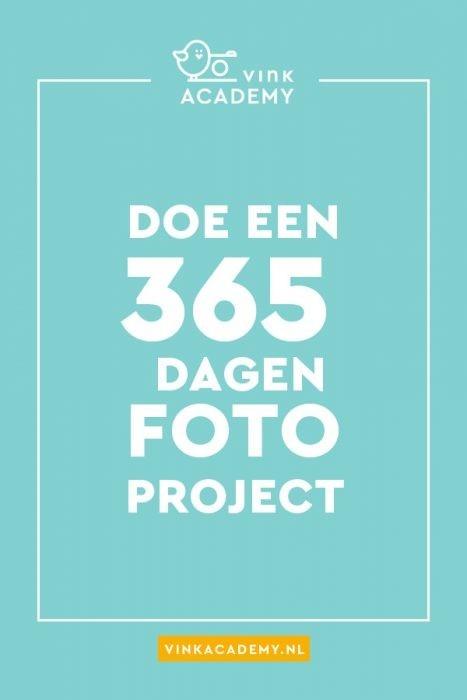 Fotoproject idee: 365 dagen project met iedere dag een foto