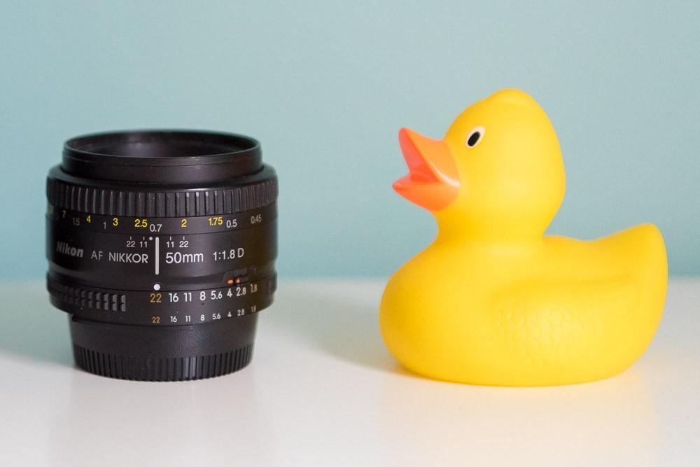 De 50mam 1.8 lens wordt ook wel eens 'plastic fantastic' genoemd