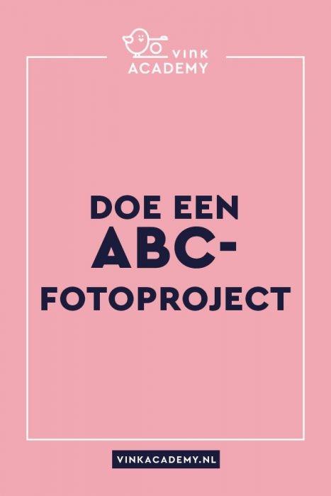 Doe een ABC-fotoproject