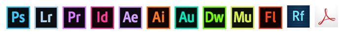 Alle programma's in Creative Cloud