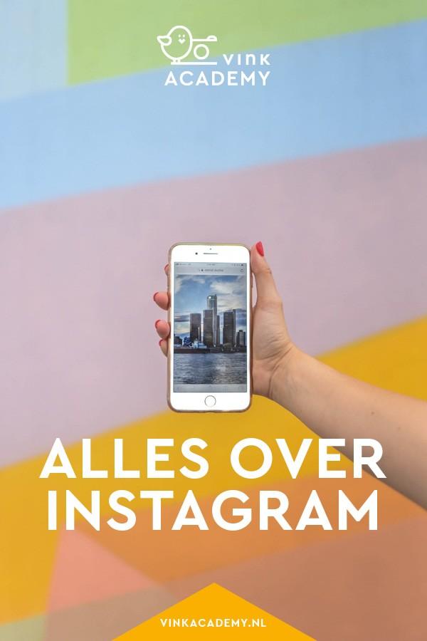 Alles over Instagram