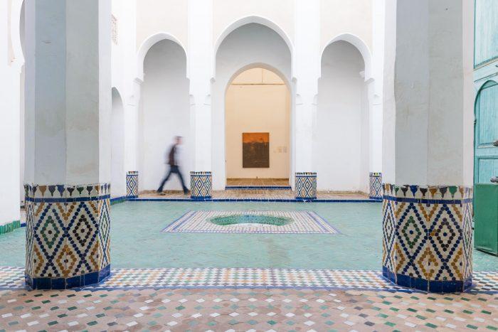Bewegingsonscherpte Marokko
