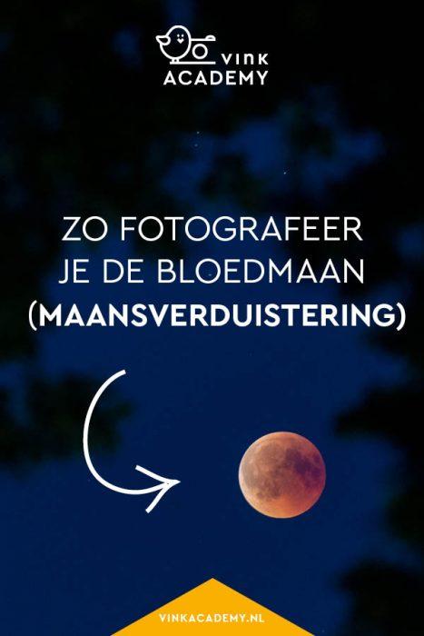 Zo fotografeer je de bloedmaan