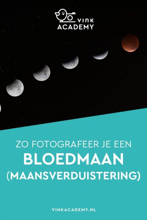 Maansverduistering fotograferen