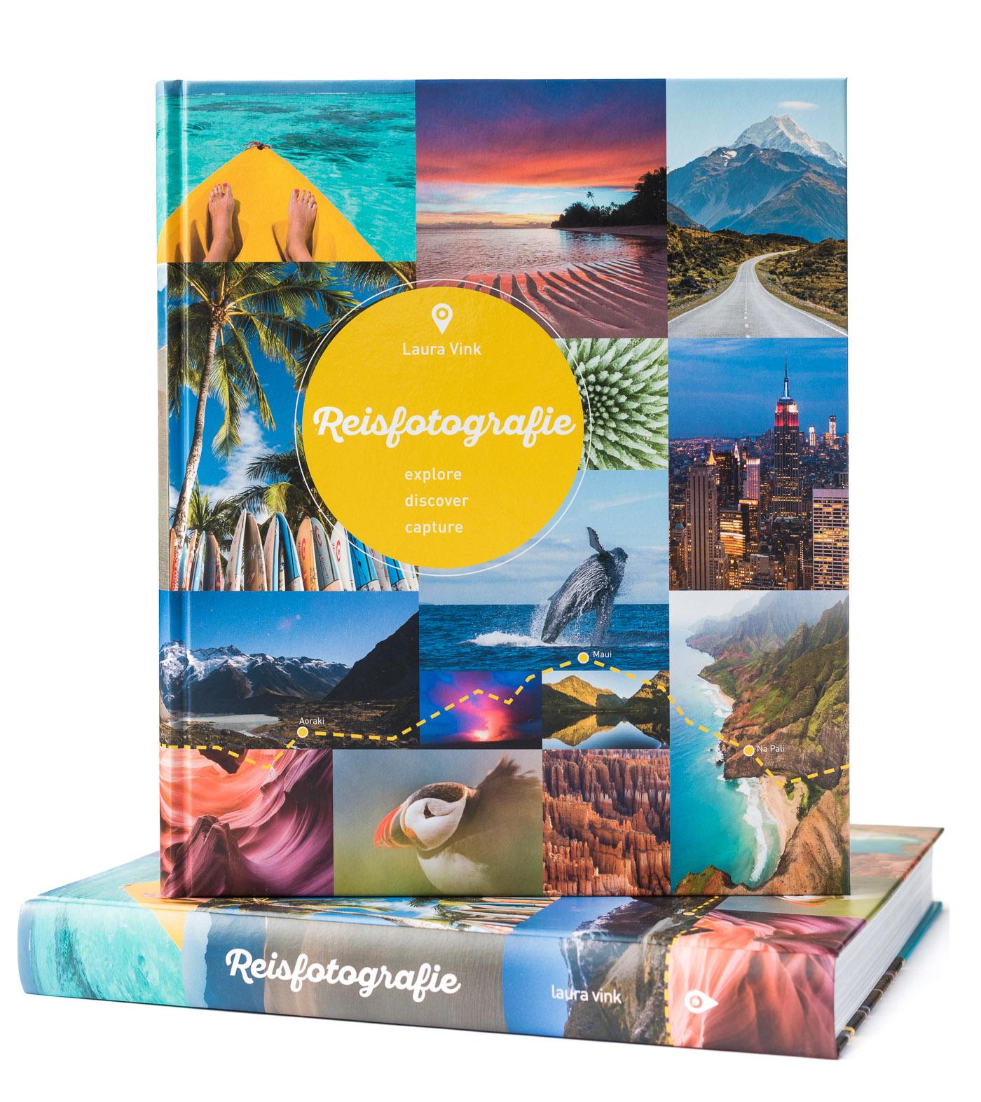 Boek Reisfotografie - Explore Discover Capture - geschreven door Laura Vink