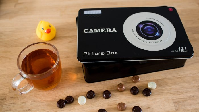 Koektrommel voor fotografen