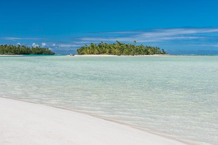 Cliche vakantiefoto's: palmbomen