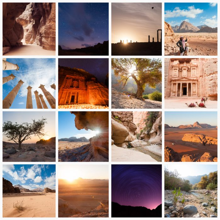 collage Jordanie
