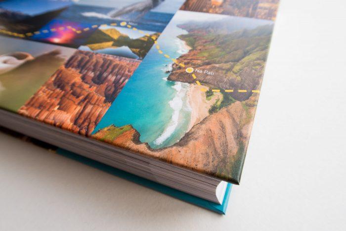 De cover van het boek Reisfotografie. De foto gaat hier nog een hoekje om...