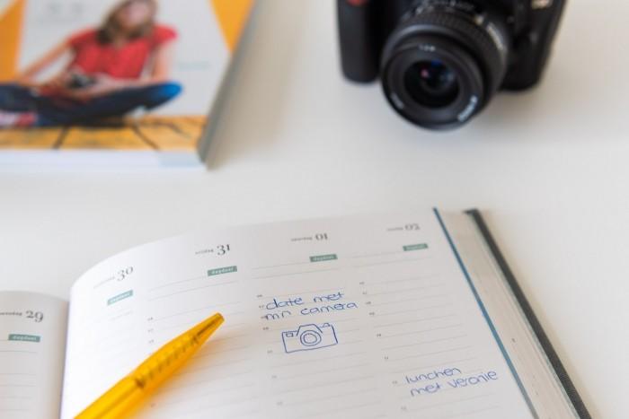 Zet het in je agenda: de date met je camera