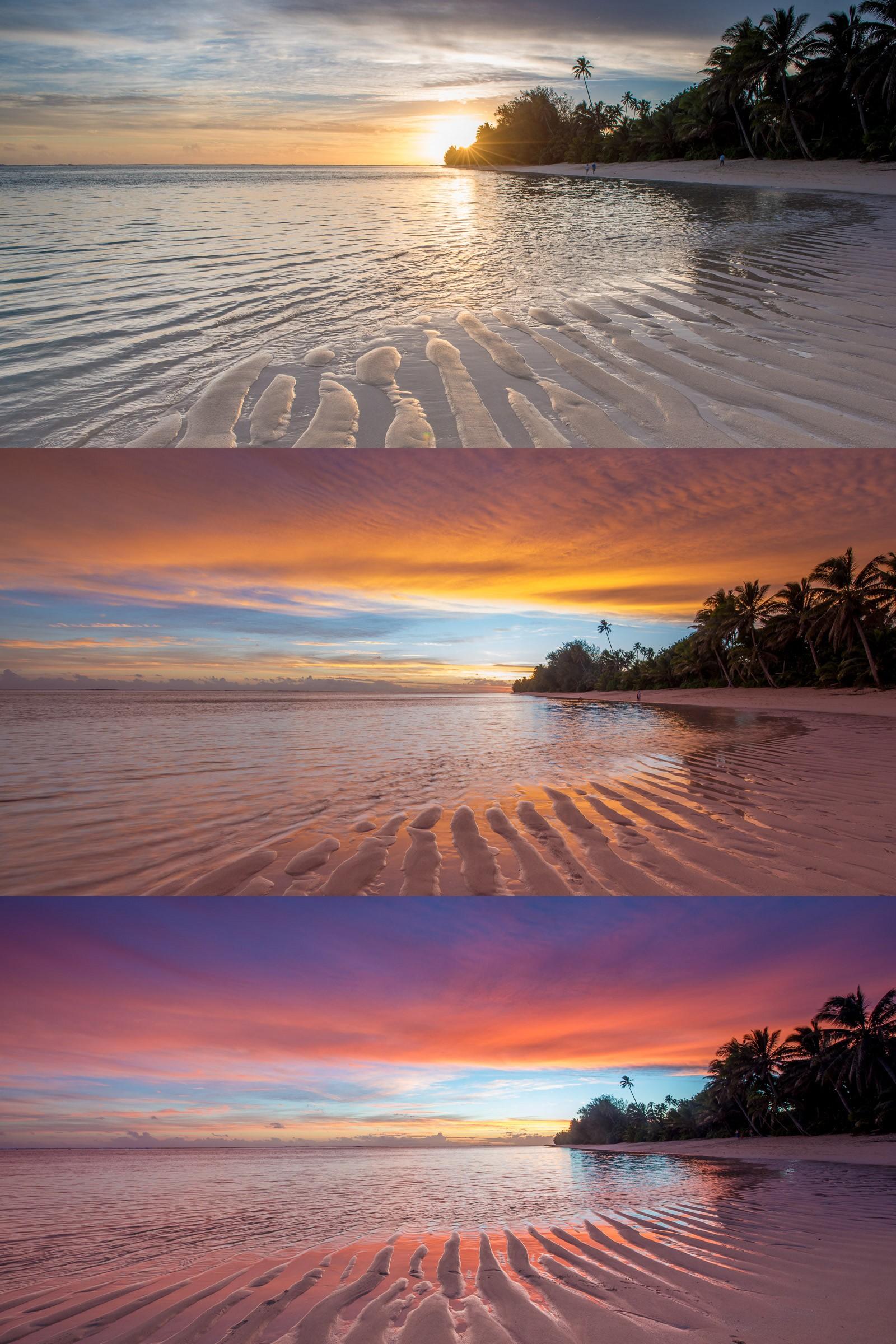 De allermooiste zonsondergang