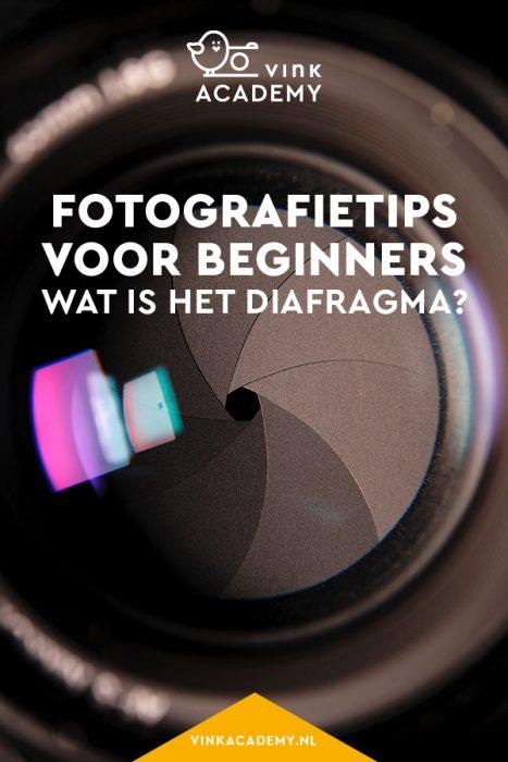 Fotografietips voor beginners: wat is het diafragma?