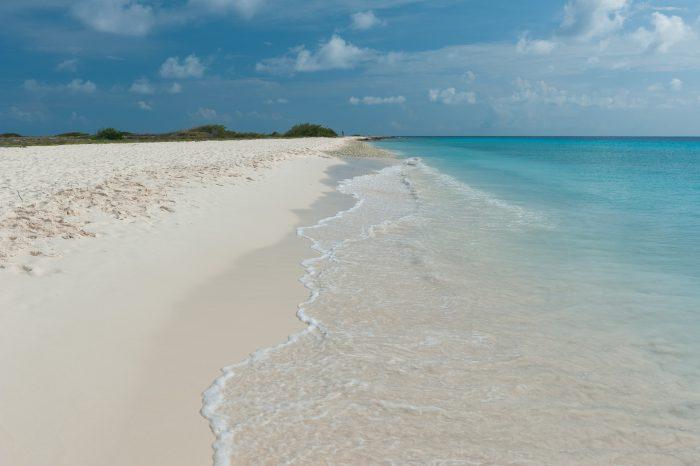 Het strand van Klein Curaçao