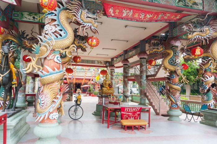 In Bangkok boekten we een fietstour bij het (bekende) Co van Kessel.
