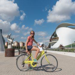Op de fiets in Valencia!