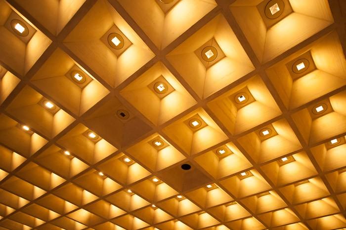 Het plafond van het Louvre, Parijs