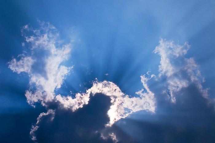 Prachtige wolkenlucht