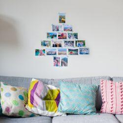 Foto kerstboom