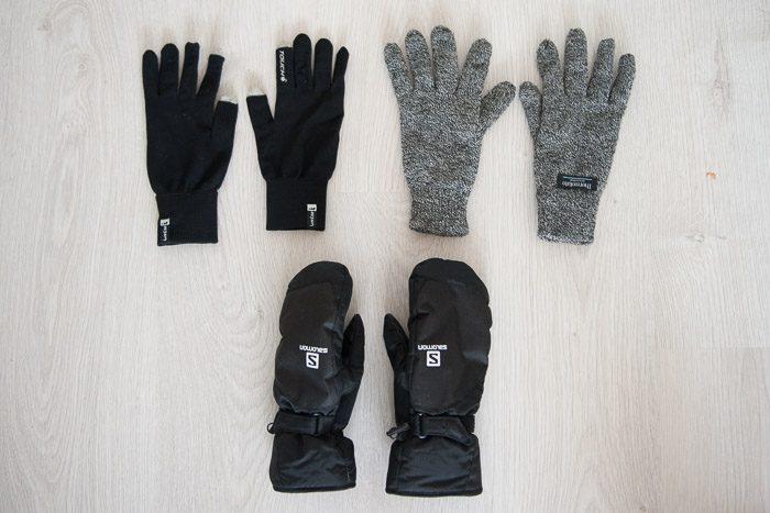 Goede handschoenen om mee te fotograferen