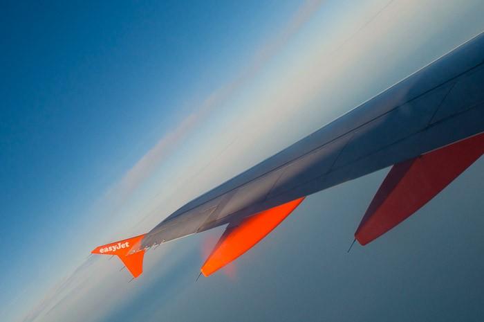 Oranje en blauw geven mooie contrasten