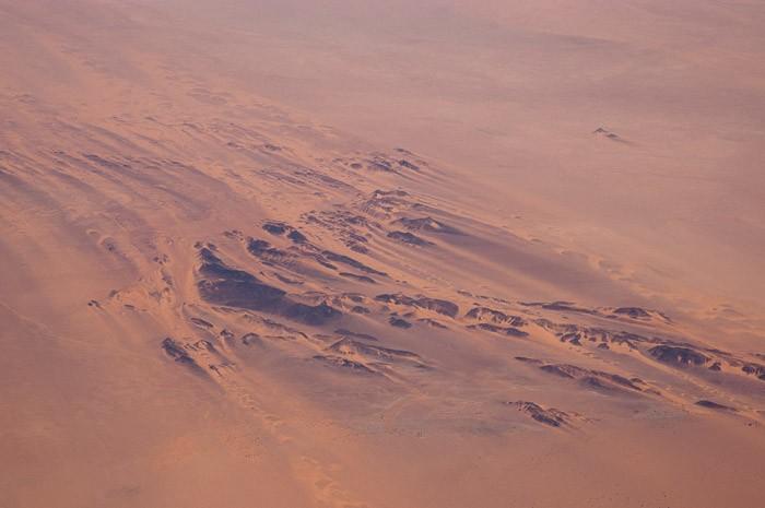 De woestijn in Afrika