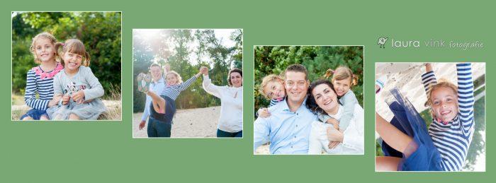 Collage voor een Facebook omslag foto