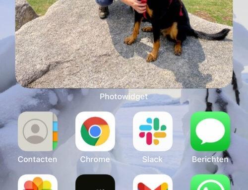 Fotowidget op je iPhone: aanzetten en aanpassen
