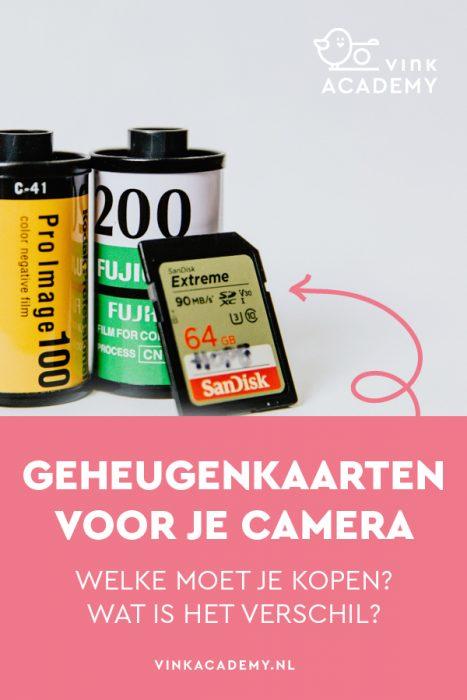 SD kaartjes, compact flash kaart; dit moet je weten over geheugenkaarten voor je camera