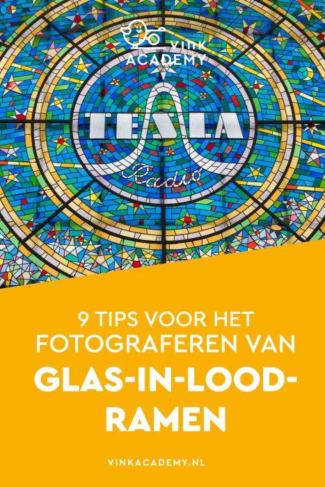 Glas in lood fotograferen