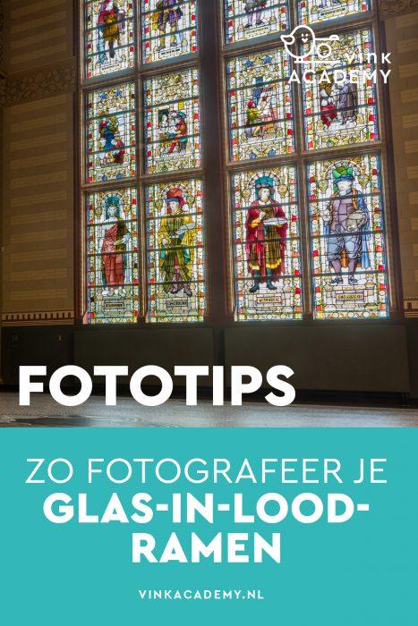 Tips voor het fotograferen van glas in lood