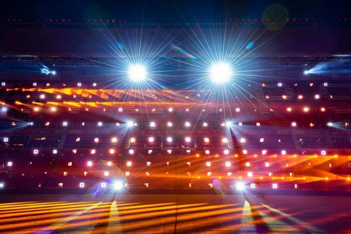Camera-instellingen lichtfestival