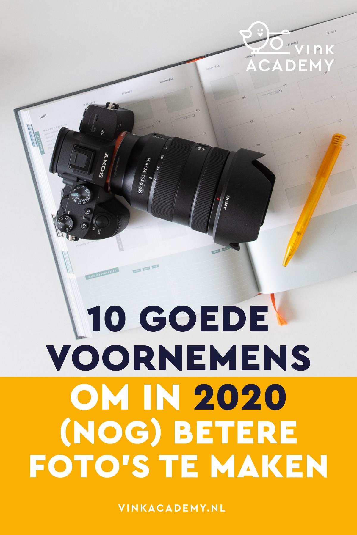 Verbeter jouw fotografie met goede voornemens