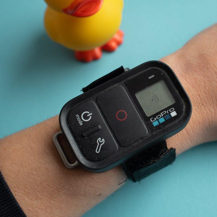GoPro Smart Remote: hij is nu op zoek naar naar verbinding