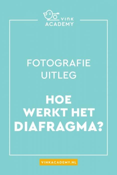 Fotografie uitleg: hoe werkt het diafragma?
