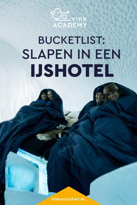 Voor op de bucketlist: boek een overnachting in het ijshotel in Zweeds Lapland