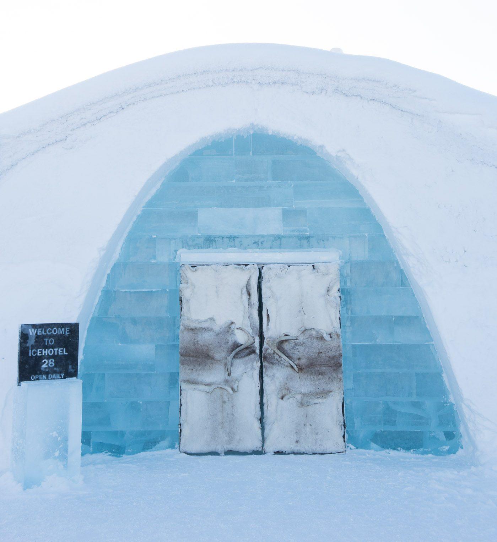 Icehotel #28 in Juakksjarvi