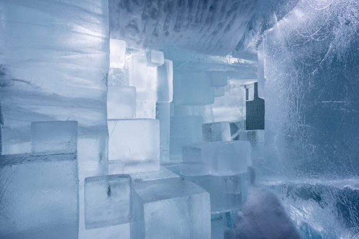 Detail van een van de ijskamers