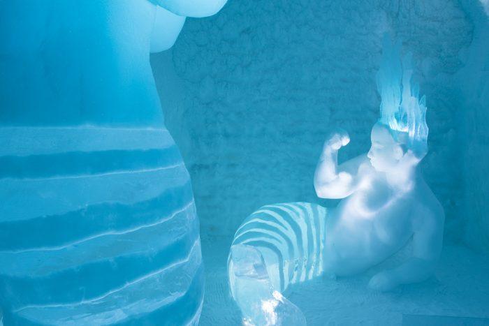 Slaap met een zeemeermin (en man) in je kamer in Icehotel 365