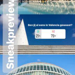 21% van de stemmers was al een keer in Valencia geweest