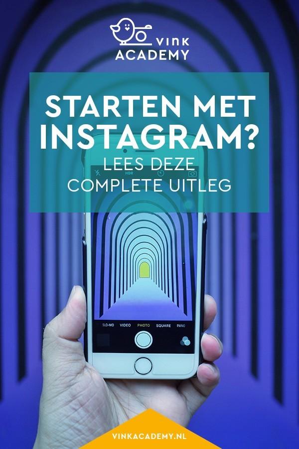 Uitleg en informatie over Instagram: voor iedereen die wil beginnen met Instagram of er succes wil hebben