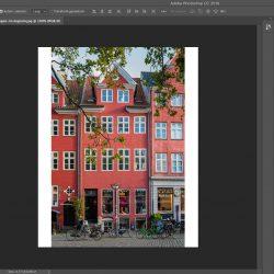 Dit is het eindresultaat. De foto en witte zijkant hebben nu samen verhouding 4:5 en dus geschikt om te uploaden naar Instagram.