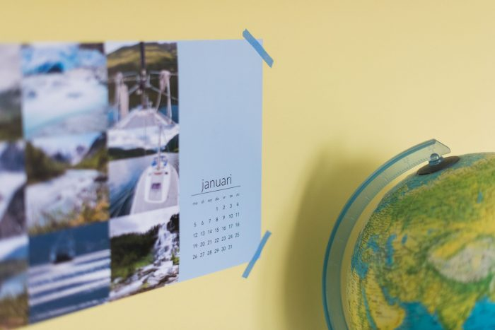 Kalender maken in Lightroom