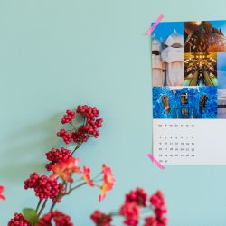 Kalender template voor Lightroom