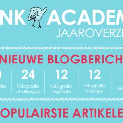 Het jaaroverzicht van Vink Academy