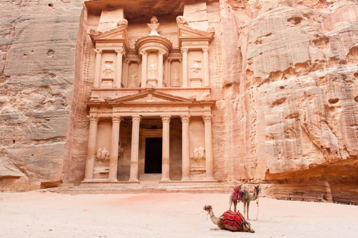 Content Aware Fill: verdwenen kameel