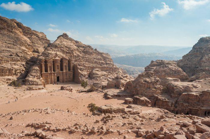 Een andere tempel, waarvoor we een behoorlijke klim moesten maken.