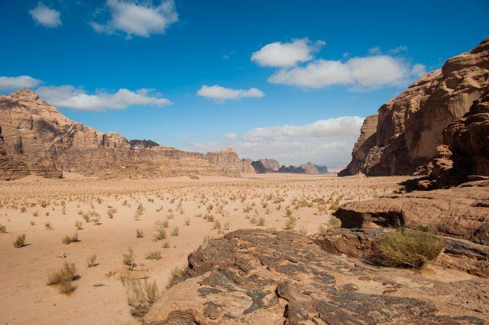 Wadi Rum in Jordanie