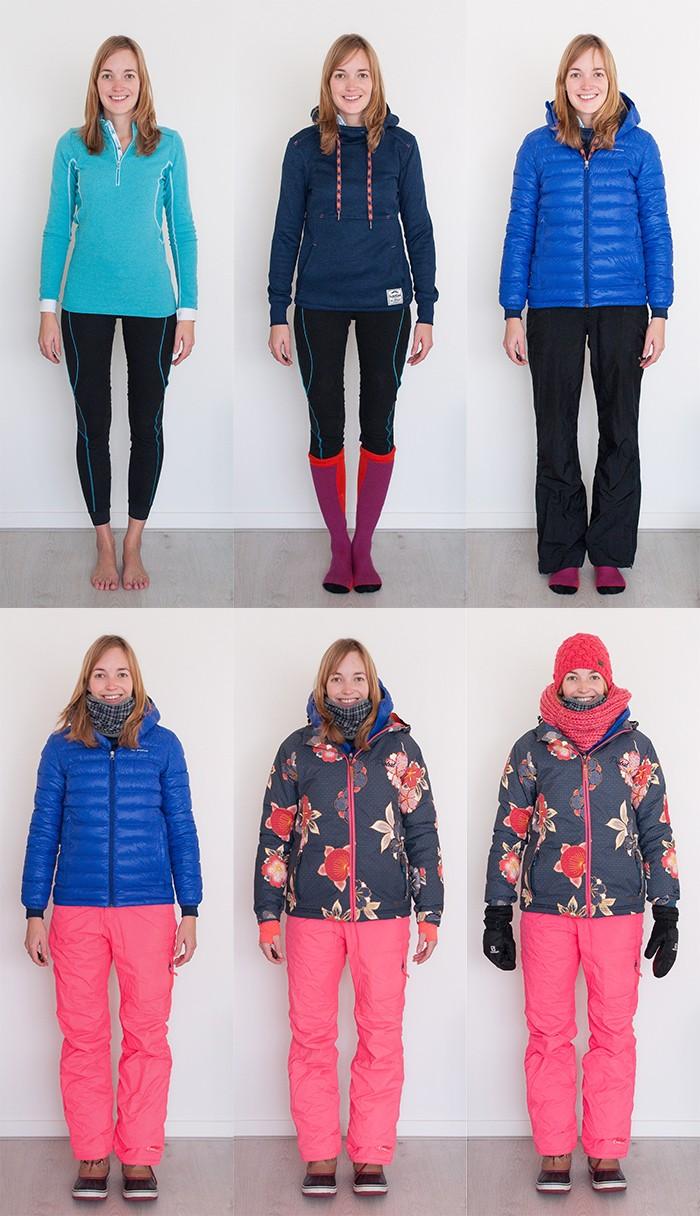 Kleding voor het fotograferen in koude omstandigheden